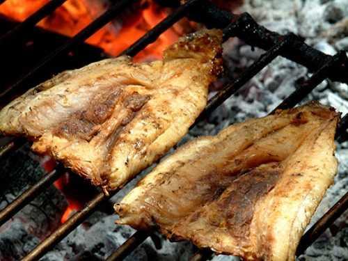 cách chế biến cá đù 1 nắng nướng
