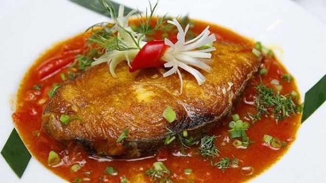 cá thu một nắng sốt cà chua