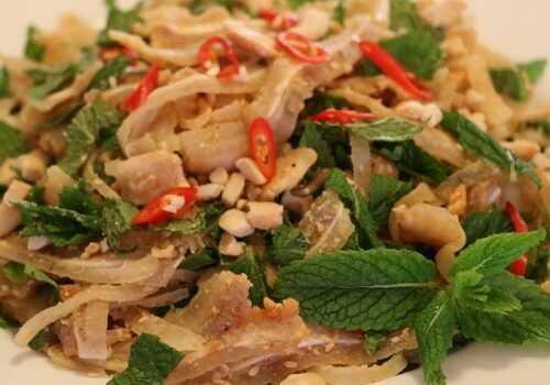 Cách trộn tré Bình Định ngon