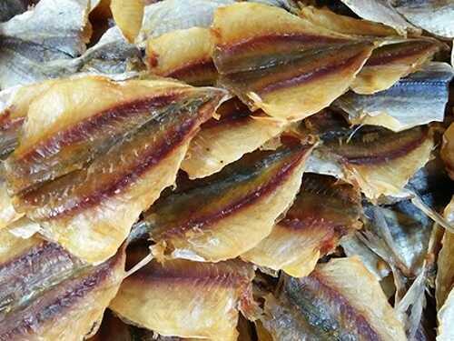 cá chỉ vàng khô giá bao nhiêu 1kg