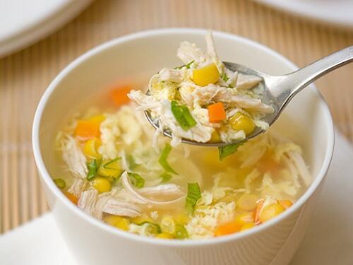 món ngon với sup tôm hùm